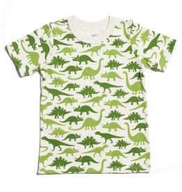 Winter Water Factory Winter Water Factory Short Sleeve Tee- Dino