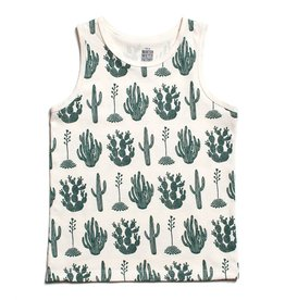 Winter Water Factory Winter Water Factory Tank Top- Cactus