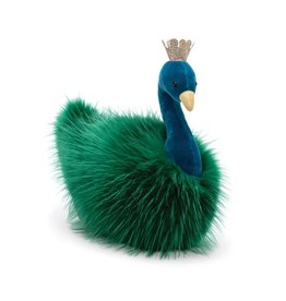 JellyCat Jelly Cat Fancy Peacock Fluffy