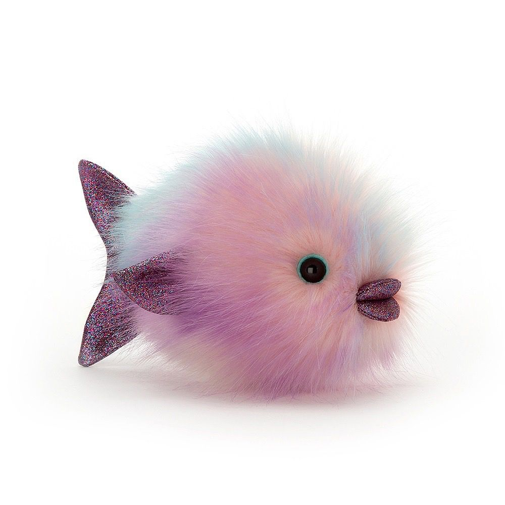 JellyCat Jelly Cat Disco Fish Pastel