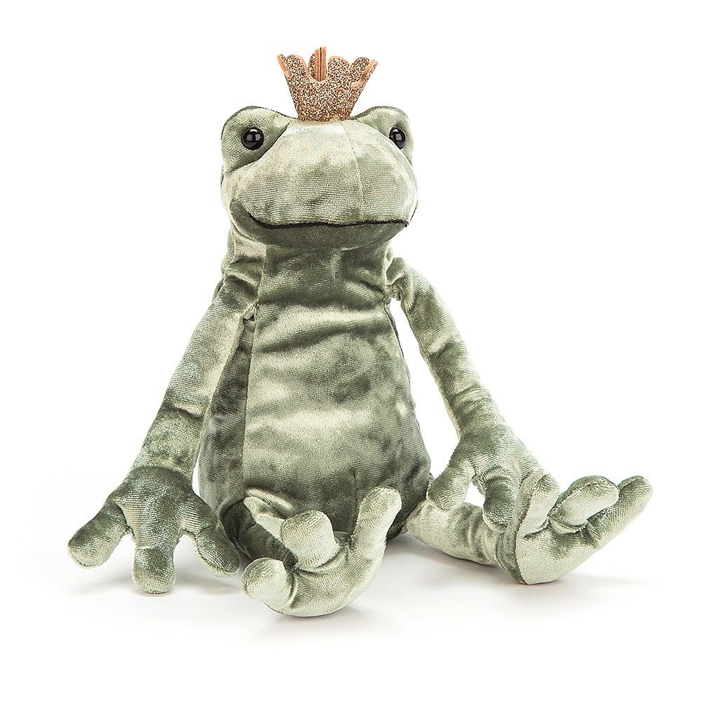 JellyCat Jelly Cat Frog Prince Kiss