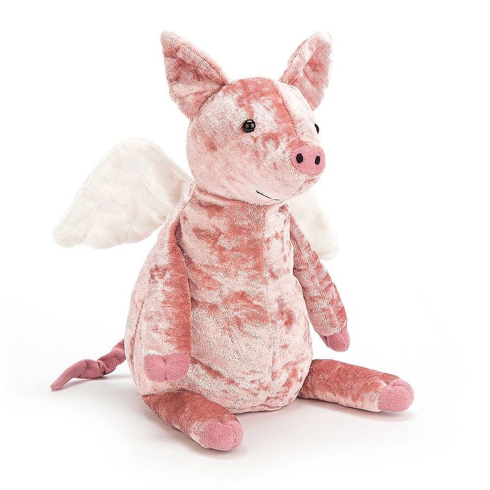 JellyCat Jelly Cat Pig Mighty Fly