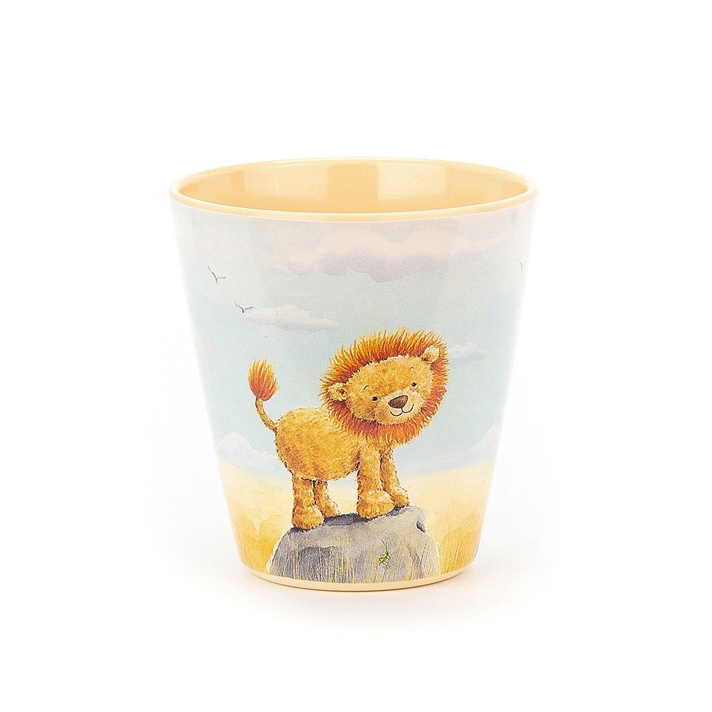 JellyCat Jelly Cat The Very Brave Lion Cup