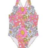 Petit Peony Petit Peony Wildflower Scalloped Swimsuit