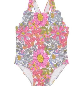 Petit Peony Petit Peony Wildflower Scalloped Swimsuit