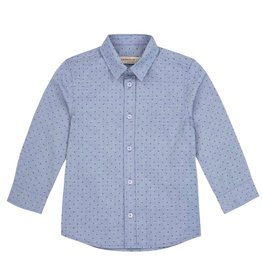 deux par deux Deux Par Deux Dotted Button Down Shirt