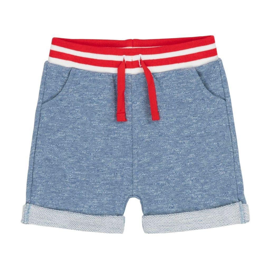 deux par deux Deux Par Deux French Terry Bermuda Shorts