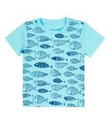 deux par deux Deux Par Deux Fish Print T-shirt