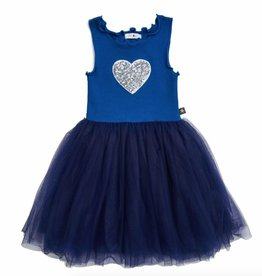 Petite Hailey Petite Hailey Tutu Dress with Heart