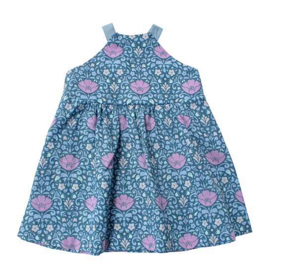 Thimble Thimble Sundress in Prairie Blooms