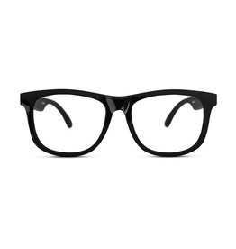 Fctry UVA/ UVB Sunglasses- Clear Black