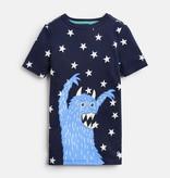 Joules Joules Star Monster PJ Set
