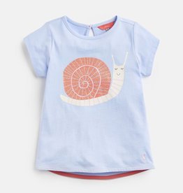 Joules Joules Pixie Glitter Snail Jersey T-Shirt