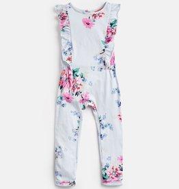 Joules Joules Rosalie Striped Floral Jumpsuit