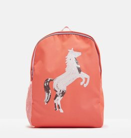 Joules Joules Sequin Horse Patchback