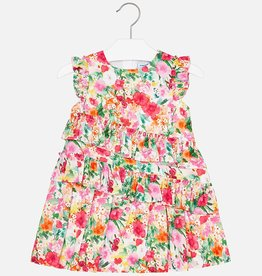 Mayoral Mayoral Ruffle Flower Dress
