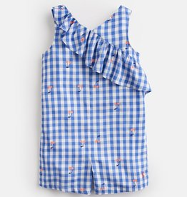 Joules Joules Anna Cherry Gingham Romper