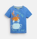 Joules Joules Archie Crab Applique Tee Shirt