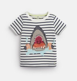 Joules Joules Archie Shark Striped Top