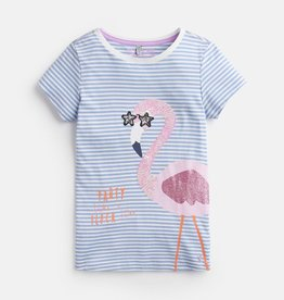Joules Joules Astra Flamingo Top
