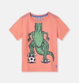 Joules Joules Ben Soccer Dino T-Shirt