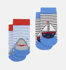 Joules Joules Boat and Shark Character Socks