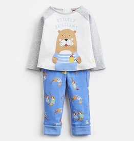 Joules Joules Mack Jersey Applique Top and Pants Set