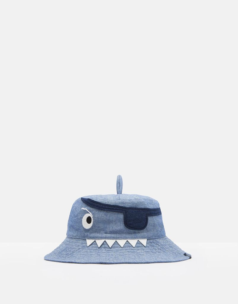 Joules Joules Pirate Shark Character Sun Hat