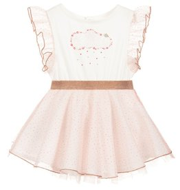 Billieblush Billieblush Tulle Dress with Cloud