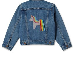 plum Plum Phyllis Unicorn Denim Jacket