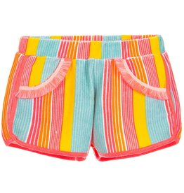 Billieblush Billieblush Striped Terry Towel Shorts