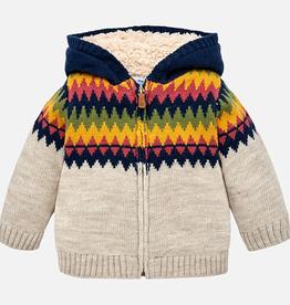 Mayoral Mayoral Jacquard Knitting Sweater