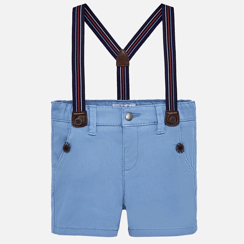 Mayoral Mayoral Chino Shorts with Suspenders