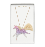 Meri Meri Meri Meri Unicorn Ombre Glitter Necklace