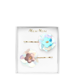 Meri Meri Meri Meri Sequin Flower Hair Slides