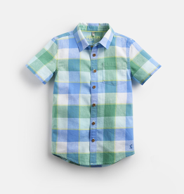 Joules Joules Sark Short Sleeve Gingham Shirt