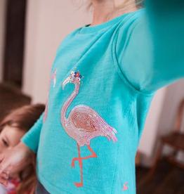 Joules Joules Chloe Flamingo Top