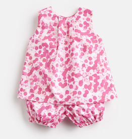 Joules Joules Felicity Multi Spot Top and Shorts Set