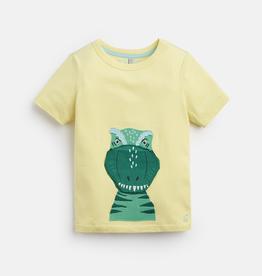 Joules Joules Chomper Dino Applique T-Shirt