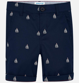 Mayoral Mayoral Patterned Bermuda Chino Shorts