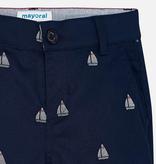 Mayoral Mayoral Patterned Bermuda Chino Shorts