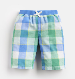 Joules Joules Huey Linen Gingham Shorts