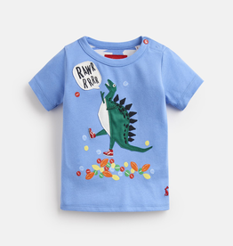Joules Joules Archie Tripping Dino Top