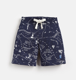 Joules Joules Bucaneer Treasure Map Dive Shorts