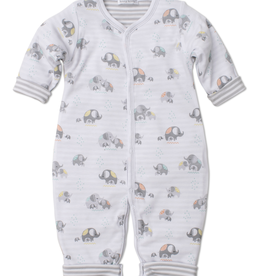 kissy kissy Kissy Kissy Elephant Hugs Reversible Playsuit