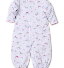 kissy kissy Kissy Kissy Rainbow Unicorns Print Convertible Gown