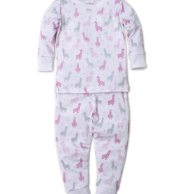 kissy kissy Kissy Kissy Wooly Llamas Print Pajama Set
