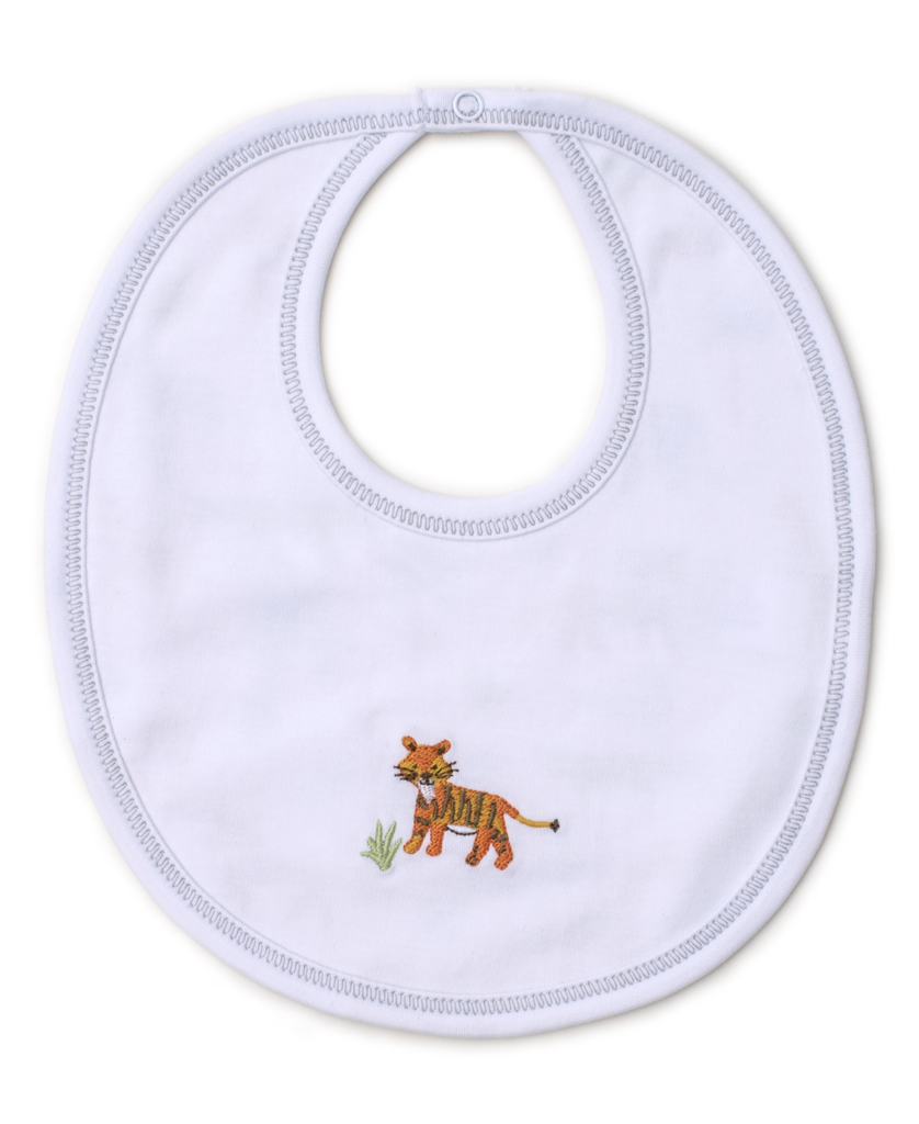 kissy kissy Kissy Kissy Jungle Junket Reversible Bib