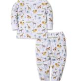 kissy kissy Kissy Kissy Jungle Junket Print Pajama Set