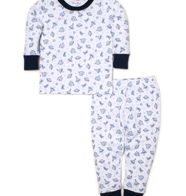 kissy kissy Kissy Kissy Rocket Science Print Pajama Set
